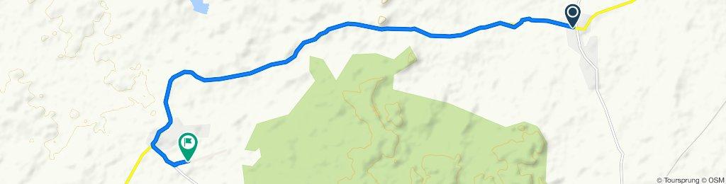 Kolebira - Hat Gamharia Road, Kanaslapos to Tata Steel Runway Noamundi, Itarbalijor