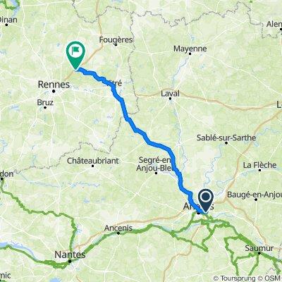 J-12: Un long trajet pour se rapprocher de St-Malo