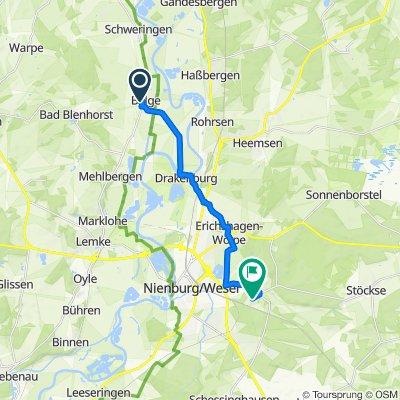 Kleine Marsch 9 , Balge nach Am Führser Busch 36, Nienburg/Weser