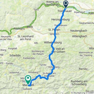Traisental Bike Tour - Overview