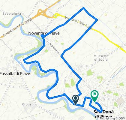 Da Via Roma 40, San Donà di Piave a Via Verona 11, San Donà di Piave