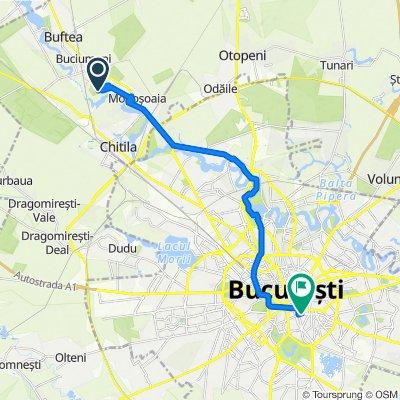 Route to Bulevardul Mărășești 6, Bucharest