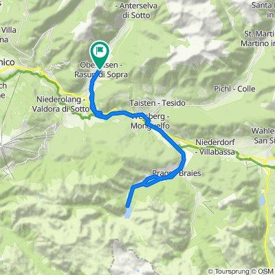 Val Pusteria 8) Rasun di Sopra- Braies