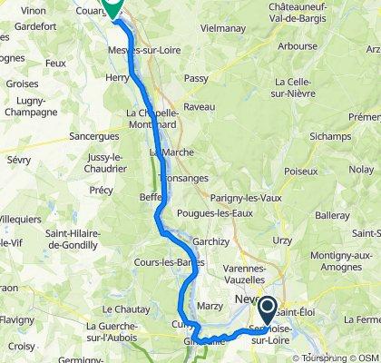 Étape 01 - De Nevers à Pouilly-sur-Loire