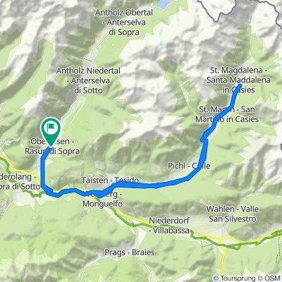 Val Pusteria 10) Rasun di Sopra- Val Casies