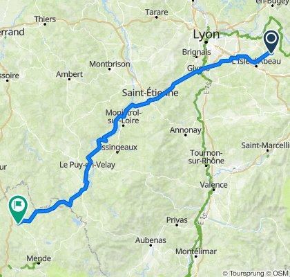 Itinéraire vers Bigose, Rimeize