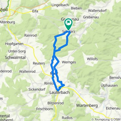 Schwarz - Lauterbach - Schwarz