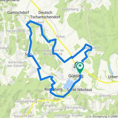 B60 Burg-Güssing-Radweg