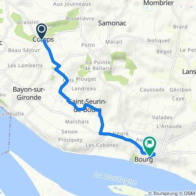 De 1 Route du Lavoir, Comps à 29 Rue Valentin Bernard, Bourg