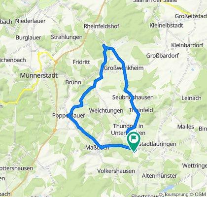 Klingenweg 9, Thundorf in Unterfranken nach Klingenweg 9, Thundorf in Unterfranken