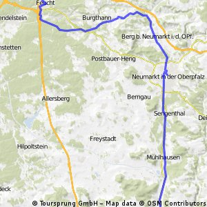 2010 Nürnberg via LudwigKanal-Berching
