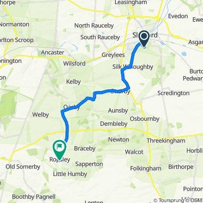 10 Acacia Close, Sleaford to 28 High Street, Grantham