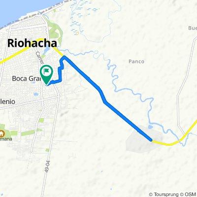 De Calle 33 6C-1–6C-99, Ríohacha a Calle 33 6C-1–6C-99, Ríohacha