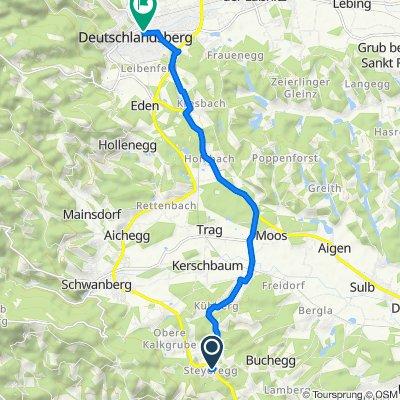 Steyeregg 66, Mitterlimberg nach Unterer Platz 7, Deutschlandsberg