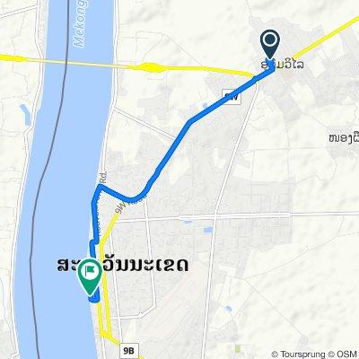 Route to Tha Hae, Savannakhét