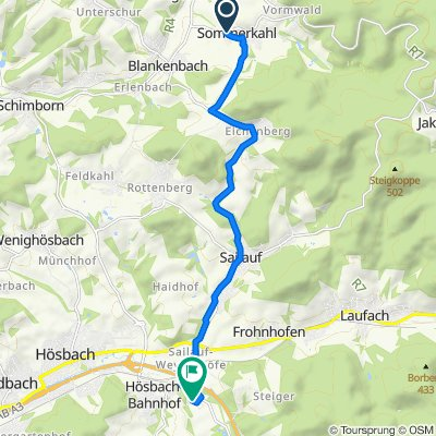 Schwedenstraße 1, Sommerkahl nach Am Beetacker 7A, Bessenbach