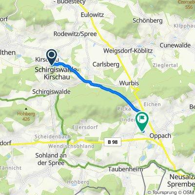 Kirschau - Freibad Oppach