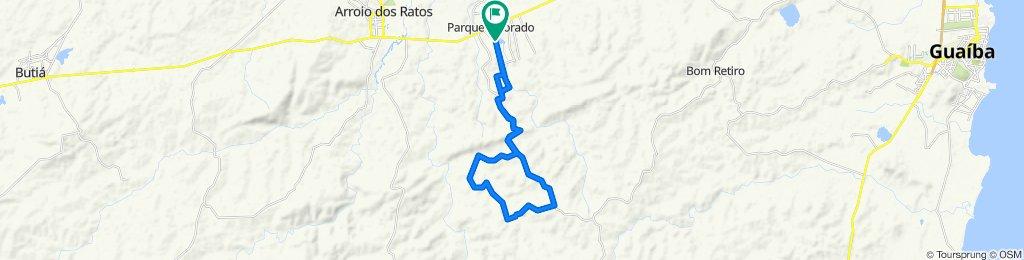 De Rua João Ricardo Juliano, 924–1094, Eldorado do Sul a Rua João Ricardo Juliano, 924–1094, Eldorado do Sul