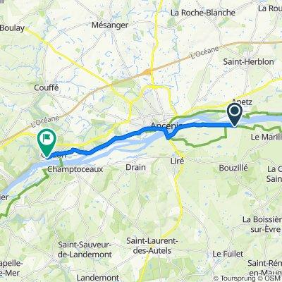 De 421 Les Babins, Bouzillé à 70 Rue de Bretagne, Oudon