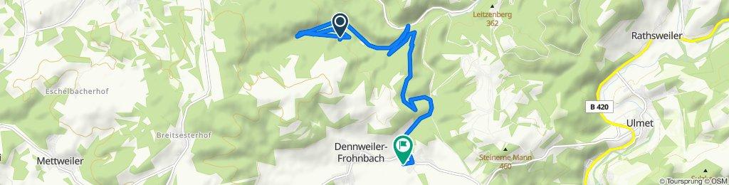 Route nach Kapellweg 4, Oberalben