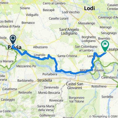 Tappa B07 - Da Pavia a Orio Litta