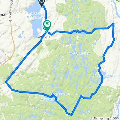 Norra Sågen 121, Stenungsund to Grössby gata 204, Stenungsund