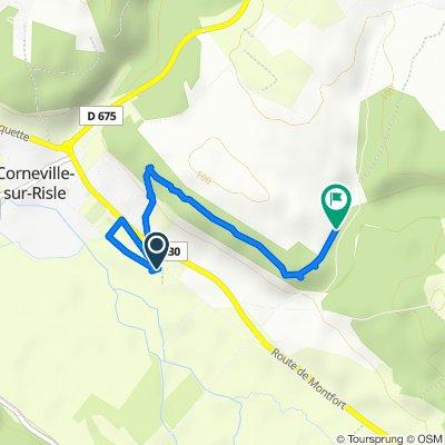 De 2519 Chemin de la Vierge, Corneville-sur-Risle à 165 Chemin Blanc, Corneville-sur-Risle