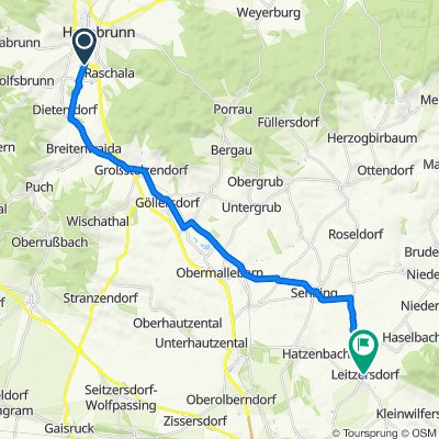 Hollabrunn - Leitzersdorf