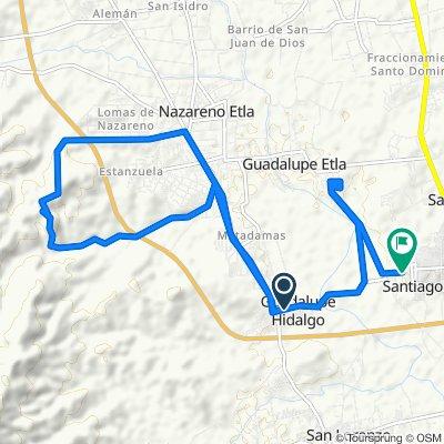 Ruta desde Calle Independencia 10, San Lorenzo Cacaotepec