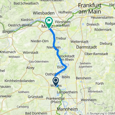 Tag 4 Worms - Mainz