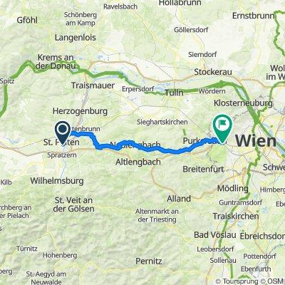 niederösterreich passathon - St Pölten-Purkersdorf