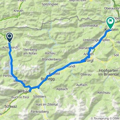 Achenkirch - Kufstein - 68 km