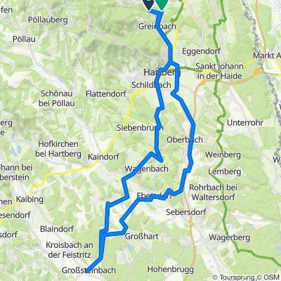 Staudachnach Großsteinbach und zurück