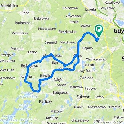 Gdynia Chwarzno-Kolonia 78km