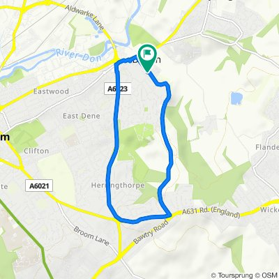 102 Dalton Lane, Rotherham to 102 Dalton Lane, Rotherham