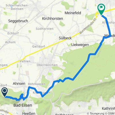 Route nach Körsestraße 10, Stadthagen