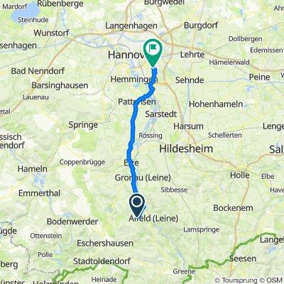 Glenetalstraße 70, Alfeld (Leine) nach An der Quelle 18, Hannover