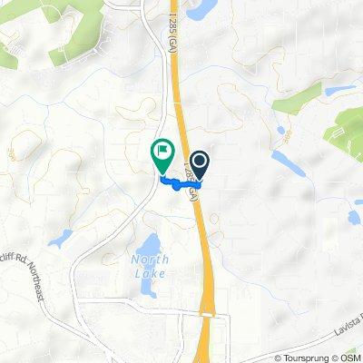 2583 Salem Crossing, Tucker to 3369 Glenrose Dr, Atlanta
