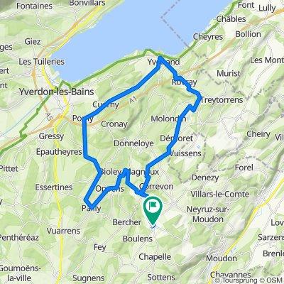 De Ruelle du Collège 2, Montanaire à Route de Lausanne, Saint-Cierges