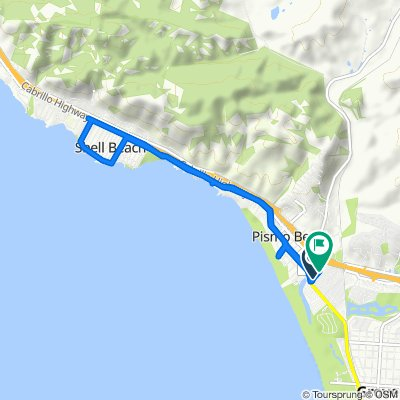South Dolliver Street 100, Pismo Beach to South Dolliver Street 98, Pismo Beach