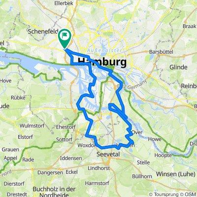 2020-07-12 - Veddel - Moorwerder - Untere Seeveniederung - Marmstorf - Alter Elbtunnel