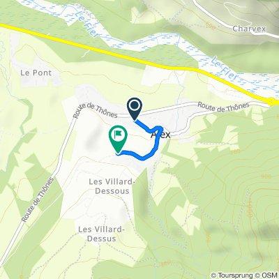 281 Route des Acacias, Alex to 586–776 Route de Menthon, Alex