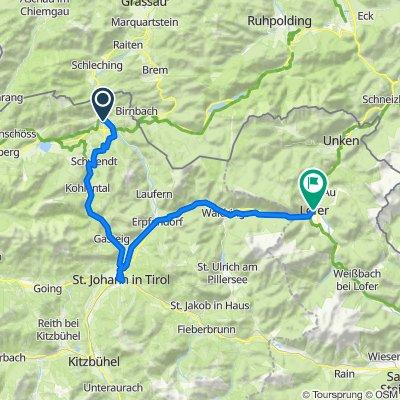 Mozart Cycle Path – Stage 13: Kössen – Lofer