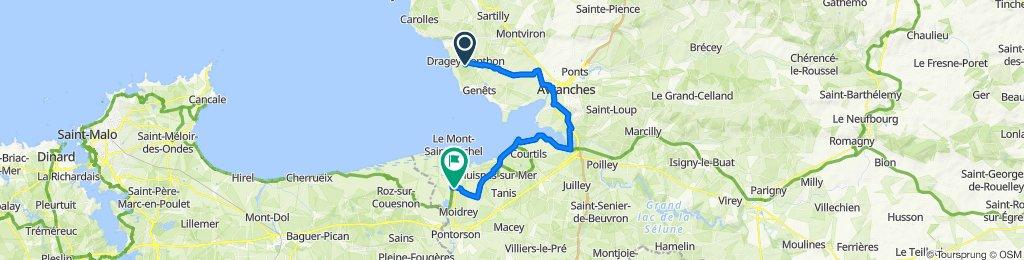 Dragey au Mont st Michel