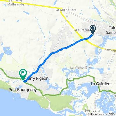 De 337–385 Avenue des Sports, Talmont-Saint-Hilaire à 363 Avenue de la Mine, Talmont-Saint-Hilaire