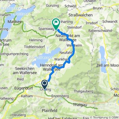 Mozart Cycle Path – Stage 04: Unzing (near Eugendorf) - Köstendorf