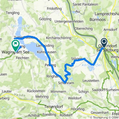 Mozart Cycle Path – Stage 06: Laufen – Waging am See