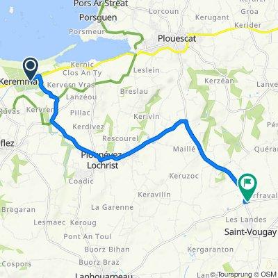 De 276 Keremma, Tréflez à Mengleuz, Saint-Vougay