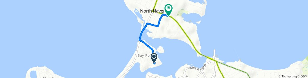 41 Cove Dr, Sag Harbor to 125–133 S Ferry Rd, North Haven