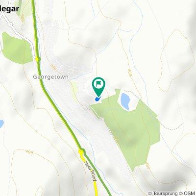 30 Saint James Park, Tredegar to 30 Saint James Park, Tredegar